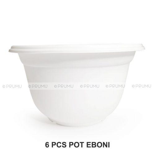 pot clio eboni30 putih 6